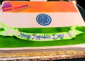 Republic Day Cake Delivery - Online Cake NCR