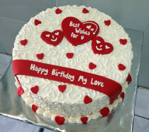 Beautiful birthday cakes in Noida