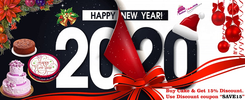 Wish you happy new year From Onlinecakencr Team