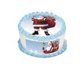 Christmas Photo Cake