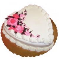 Pineapple Valentines Cake