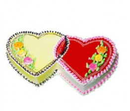 Double Heart Cake