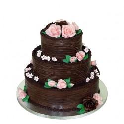3 Story Cake