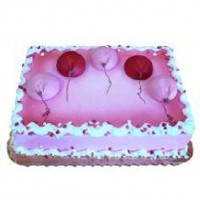Beautiful Balloon Cake
