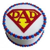 Cake For Super Dad