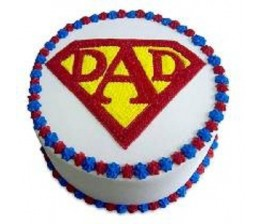 Cake For Super Dad