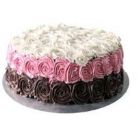 Color Full Rose Cake