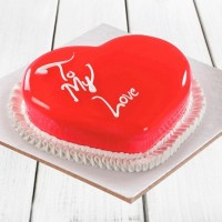 Strawberry Heart Shape