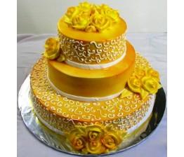 Triple Tier Cake