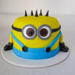 Cute Minion Cake