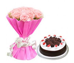 Bunch With Cake
