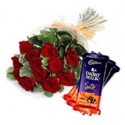 Combo Flowers Chocolate