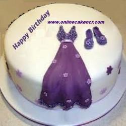 Birthday Cake( Fondant)