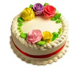 Creamy Vanilla  Cake