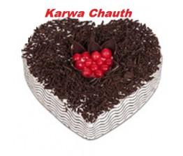 Heartshape Choclotae Cake