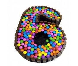 6-Kitkat Cake
