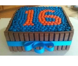 Square shape Cake