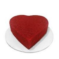 Heart Shape Red Velvet