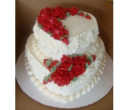 2-Tier Heart Shape