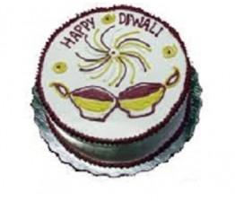 Diwali Chocolate Cake
