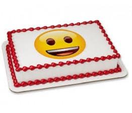Smily Photo Cake