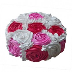 Special Rose Cake