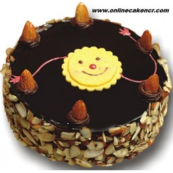 Happy Rakhi Cake