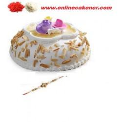 New Cake With Rakhi