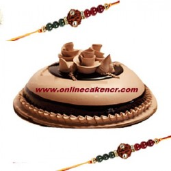 Rakhi With Special Cake