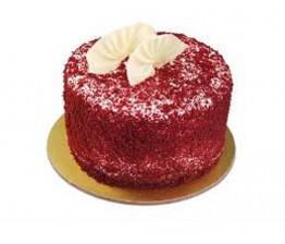 Red Velvet Round Shape