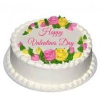 Happy Valentine Day Cake