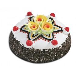 New Year Vanila Cake