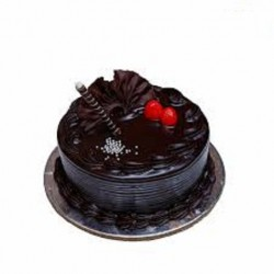 Fresh Dark Chocolate Cake