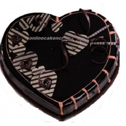 Chocolate Heartshape Cake