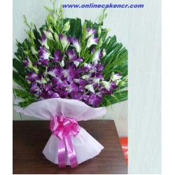 10-Orchids Bouquet