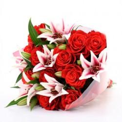 12-Roses Bouquet