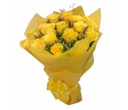 18- Yellow Roses Hand Bunch