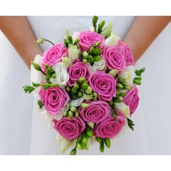 Roses Bride Wedding Hand