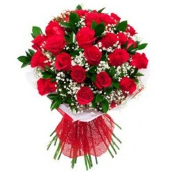 20-Red Roses Hand Bunch