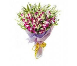 15-Orchids Flower Hand Bunch