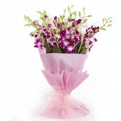 Special Orchids Hand Bunch