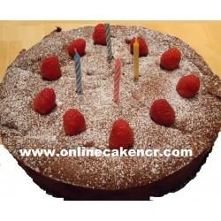 Birthday Fruits Cake