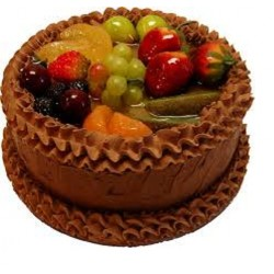 Birthday Fruits Cake