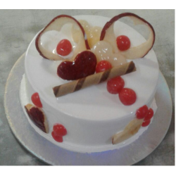 Fresh Creamy Fruit cake