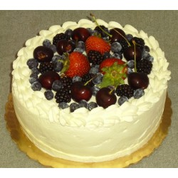 Fruit Cake with Butterskotch