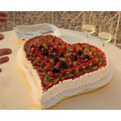 Love Fruits Cake
