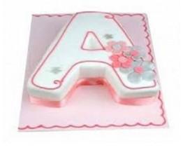 A shape Cake