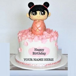 Birthday Kids Cake(Fondant Cake)
