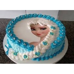 Special Photo Doll Cake