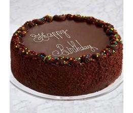 Birthday Photo Cake